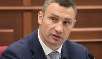 С 18 мая ограничивается въезд крупногабаритного транспорта в часы пик для разгрузки трафика в столице - Кличко