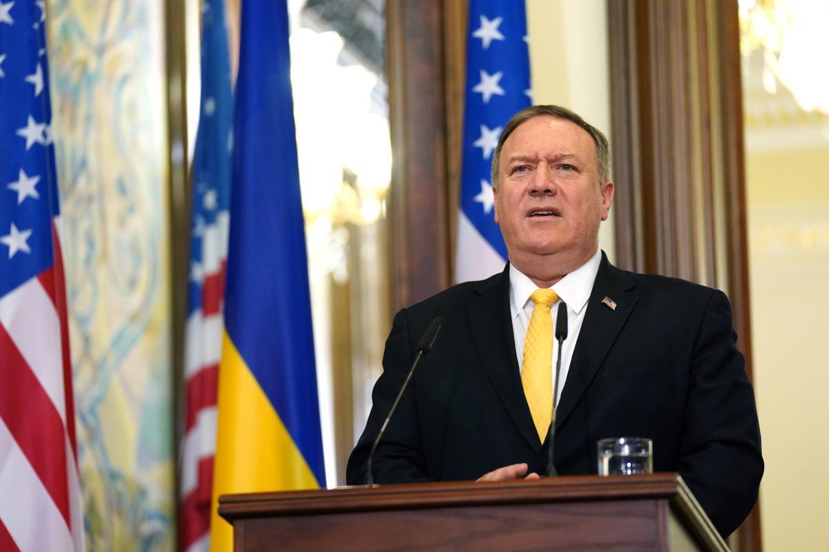 Госдеп заставлял Помпео развеять сомнения Украины в политике США