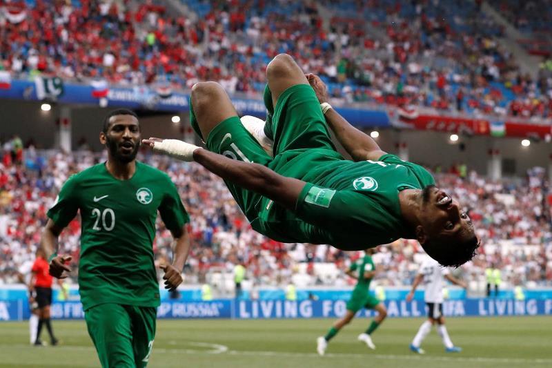 Збірна Саудівської Аравії сенсаційно обіграла Єгипет на чемпіонаті світу