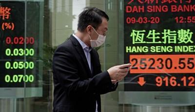 ВВП Китая рухнул впервые за 18 лет из-за коронавируса