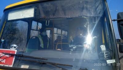 В Кропивницком обнаружили коронавирус у водителя маршрутки