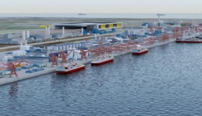 Под Очаковом планируют за $60 млрд построить крупнейший глубоководный порт на Черном море