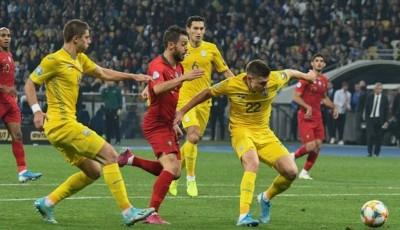 Сборная Украины по футболу сохранила 24-е место в мировом рейтинге FIFA