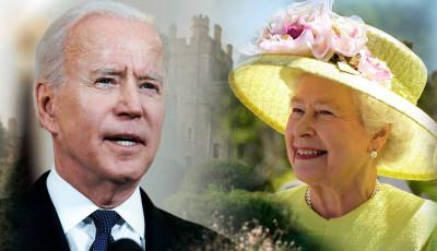 Байден с женой встретились с королевой Великобритании Елизаветой II в Виндзорском замке