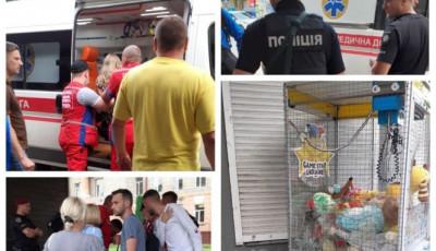 У Тернополі на зупинці громадського транспорту дитину вдарило струмом: подробиці