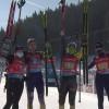 Женская сборная Украины по биатлону завоевала