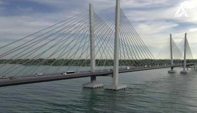 Украина подписала договор на новый мост в Кременчуге за 11 млрд