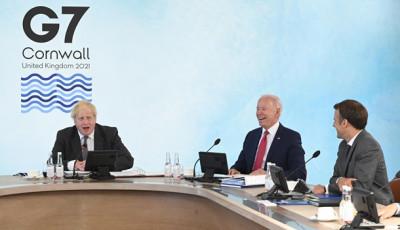За спиной Макрона. AUKUS согласовали на саммите G7