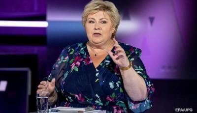 В Норвегии премьер-министр подала в отставку