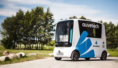В Естонії створено перший в світі безпілотний водневий автомобіль