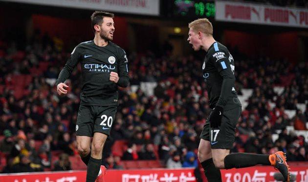 Арсенал — Манчестер Сити 0:3. Відео голів та огляд матчу.