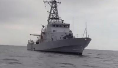 Россияне устроили провокацию во время морских боевых учений Украины: видео