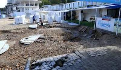 Одесситам запретили купаться в море из-за грязной воды