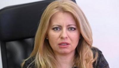 Президент Словакии ушла на карантин