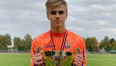 16-летний голкипер героически вывел свой клуб в финал Кубка Украины