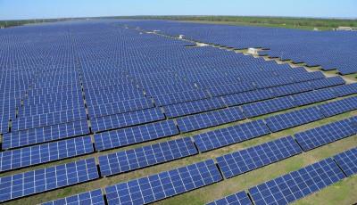 В Николаевской области запустили в работу самую мощную солнечную электростанцию