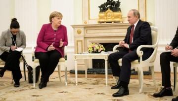 Меркель: Ми будемо підтримувати Nord Stream 2, санкції США — неправильні