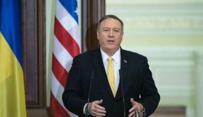 Помпео відзначив зусилля української дипломатії у мирному врегулюванні на Донбасі