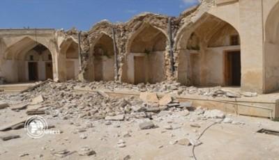 Землетрус в Ірані зруйнував історичну пам'ятку