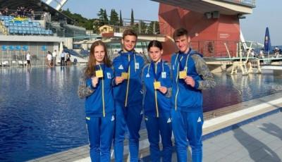 Стрибуни у воду здобули перше «золото» на юніорському чемпіонаті Європи