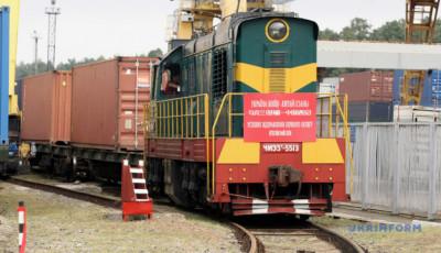 З України до Китаю відправився перший контейнерний поїзд