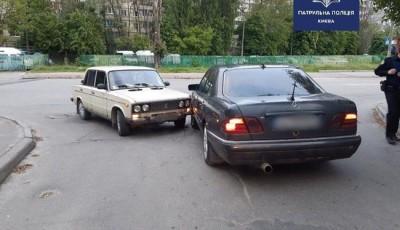 У Києві сталася ДТП за участі двох п'яних водіїв, – поліція