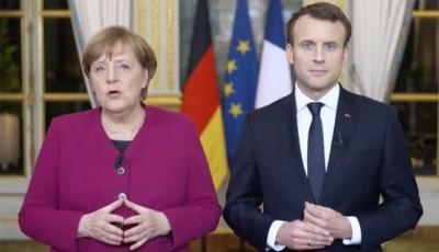 Макрон и Меркель призвали руководство ЕС на должном уровне подготовиться к возможным новым пандемиям