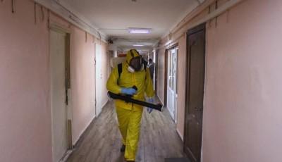 В общежитии под Киевом новая вспышка коронавируса