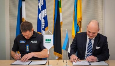 В Эстонии подписан договор о строительстве первого этапа границы с Россией