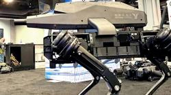 В США разработан робот-собака со встроенной винтовкой