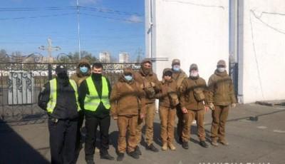 В Киеве полиция начала патрулирование кладбищ