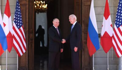 Байден упомянул Украину одним предложением за получасовой брифинг после встречи с Путиным