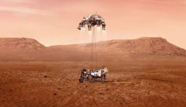 Марсоход Perseverance высадился на Марс. Как это было?