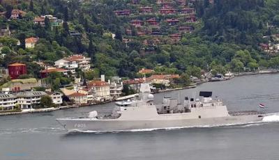 В Черное море вошли военные корабли Великобритании и Нидерландов