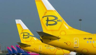 Bees Airline c 14 октября начнет летать из Киева в Одессу