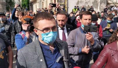 Известный активист Стерненко подозревается в убийстве, - теперь официально