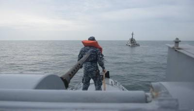 Военно-морские силы Украины испытали новую «Гюрзу» в море возле Одессы