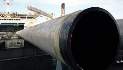 Северный поток-2. Судно-трубоукладчик пришвартовалось в Калининграде