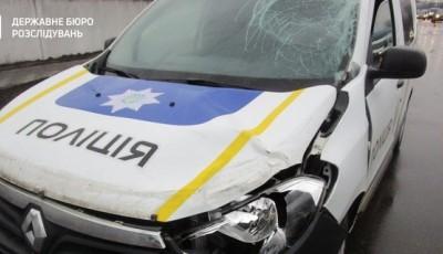 В Борисполе полицейский на служебном авто сбил насмерть человека