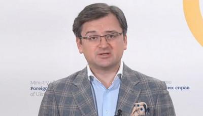 Агрессивная политика России угрожает Украине и ее союзникам, — Кулеба об обстреле британского эсминца
