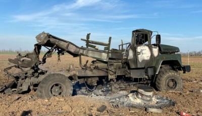 На Херсонщині вибухнула вантажівка з боєприпасами